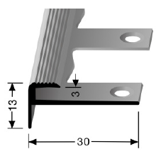 Biegbares Treppenkantenprofil (809EB)