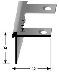 Biegbares Treppenkantenprofil (874EB)