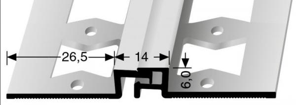 Bewegungsfugenprofil (319G) gestanzt