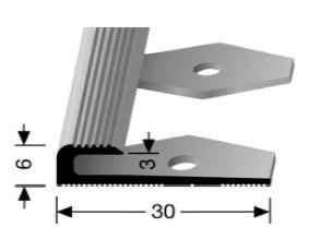 Einfach biegbares Abschlussprofil (804EB)