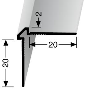 Wand- und Tapetenprofil (155U) ungestanzt