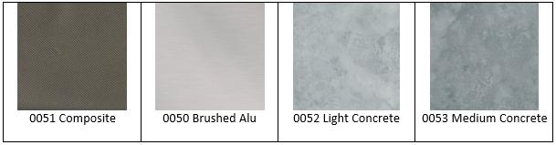 Kollage-Farben-Trend