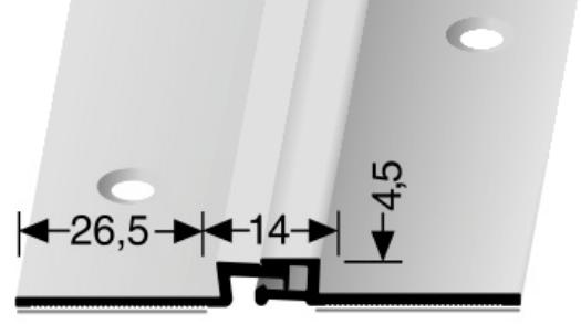 Bewegungsfugenprofil (318SK) selbstklebend