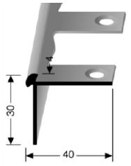 Biegbares Treppenkantenprofil (872EB)