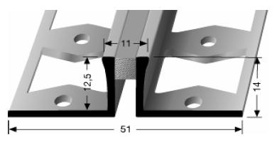 Dehnfugenprofil (305S)