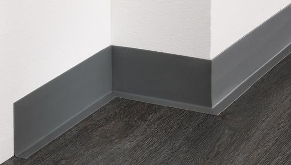 PVC-Weichsockelleiste (70/12), selbstklebend