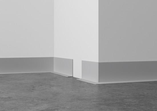 PVC-Weichsockelleiste (100/12), selbstklebend