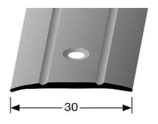 Übergangsprofil (439) versenkt gebohrt