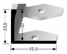 Einfach biegbares Abschlussprofil (309)