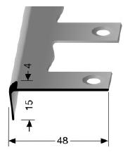 Biegbares Treppenkantenprofil (861EB)