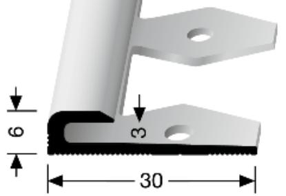 Einfach biegbares Abschlussprofil (801EB)