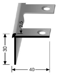 Biegbares Treppenkantenprofil (870EB)