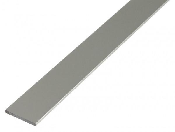 Flachprofil aus Aluminium, verschiedene Maße, eloxiert