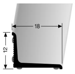 Wandabschlussprofil (369N/SK) selbstklebend