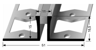 Dehnfugenprofil (306S)