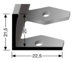 Einfach biegbares Abschlussprofil (313)