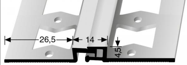 Bewegungsfugenprofil (318G) gestanzt