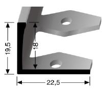 Einfach biegbares Abschlussprofil (312)