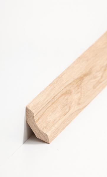 Hohlkehlleiste kantiges Profil 30 x 30 mm