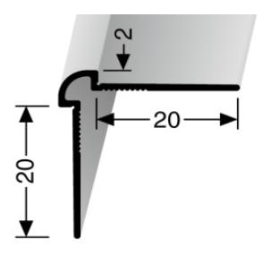Wand- und Tapetenprofil (150U) ungestanzt