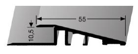 Rampenprofil (261U) ungebohrt