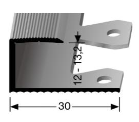 Einfach biegbares Abschlussprofil (213EB)