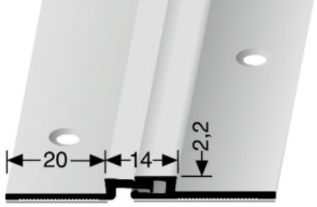Bewegungsfugenprofil (316SK) selbstklebend
