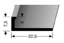 Abschlussprofil (307U) ungestanzt