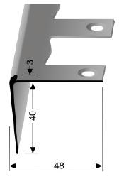 Biegbares Treppenkantenprofil (862EB)