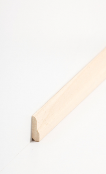 Vorsatzleiste profiliert 8 x 26 mm, Abachi