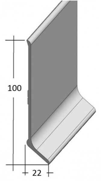 Aluminium Sockelleiste (100/22)