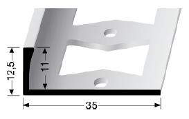 Doppel-K Profil (338G) gestanzt