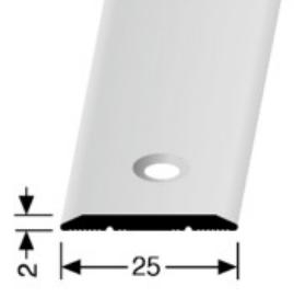 Übergangsprofil (442), versenkt gebohrt