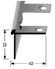 Biegbares Treppenkantenprofil (873EB)