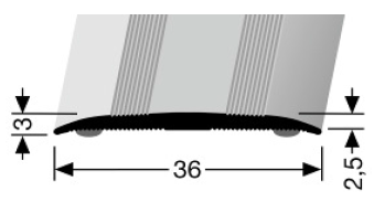 Übergangsprofil (440SK) selbstklebend
