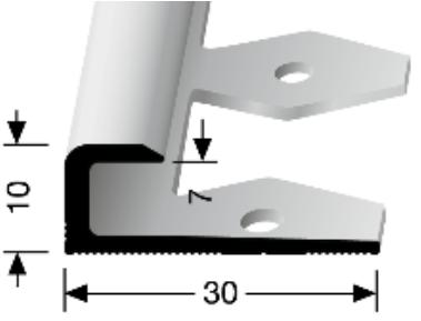 Einfach biegbares Abschlussprofil (803EB)