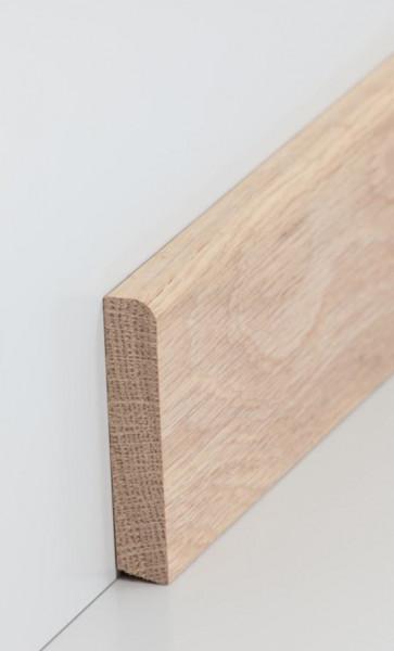 Massivholz-Sockelleiste 13 x 70 mm