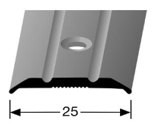 Übergangsprofil (230) versenkt gebohrt