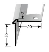 Wand- und Tapetenprofil (155G) gestanzt