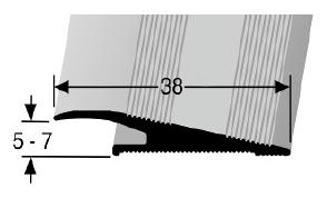Rampenprofil (265U) ungebohrt