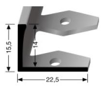 Einfach biegbares Abschlussprofil (311)