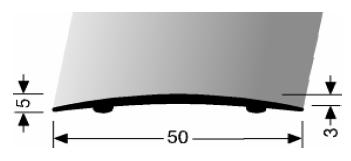 Übergangsprofil (463SK) selbstklebend