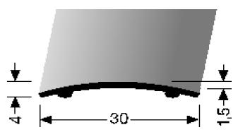 Übergangsprofil (459SK) selbstklebend