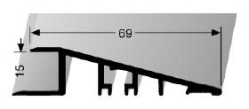 Rampenprofil (263U) ungebohrt