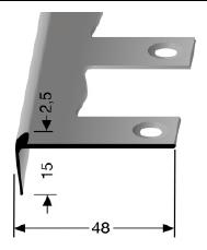 Biegbares Treppenkantenprofil (859EB)