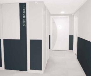 SPM/Gerflor - Wandschutzplatten