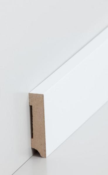 MDF-Kern-Sockelleisten 13 mm Stark, rechteckig
