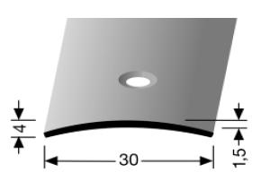 Übergangsprofil (459) versenkt gebohrt