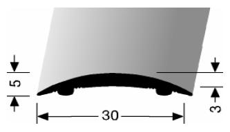 Übergangsprofil (460SK) selbstklebend
