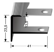 Biegbares Treppenkantenprofil (812EB)